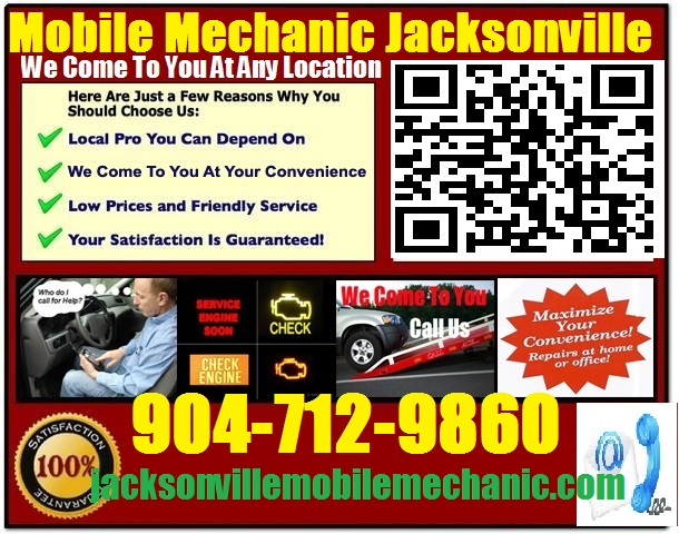 Mobile auto repair in jacksonville fl