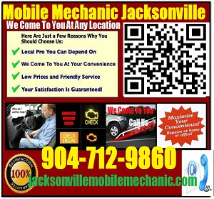 Mobile Mechanic Jacksonville Florida Auto Car Repair Service
